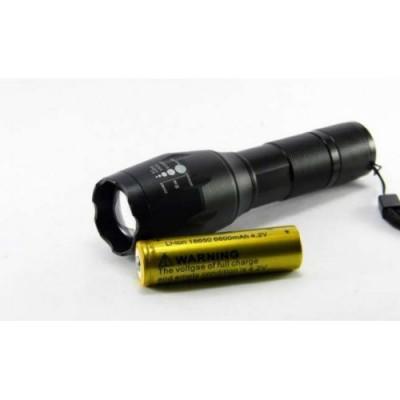 Тактический фонарь POLICE BL 1831 T6 50000W фонарик 1000 Lumen + Велокрепление
