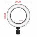 Кольцевая LED лампа 26 см 15 W с держателем для телефона селфи кольцо для блогера СО ШТАТИВОМ