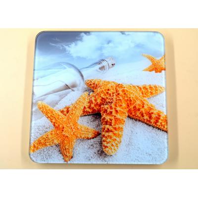 Электронные напольные весы Domotec MS-2019 до 180 кг с ЖК дисплеем Морская звезда