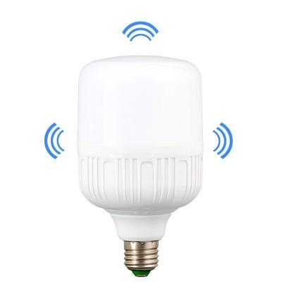 Лампочка cветодиодная с датчиком движения сенсором E27 9W