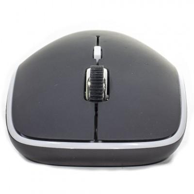 Беспроводная мышь мышка тихая плоская 1600dpi iMice G-1600 Чёрная