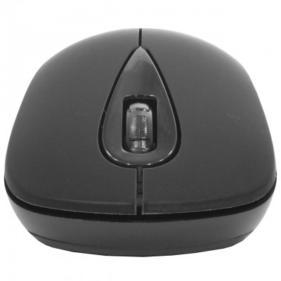 Мышь компьютерная iMICE E-2370 беспроводная USB Разрешение 1600 DPI мышка Чёрная