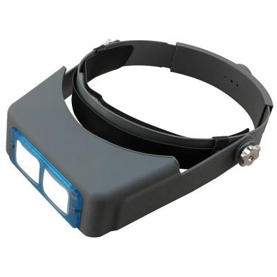 Бинокулярные очки Magnifier MG81007-B со стеклянными линзами
