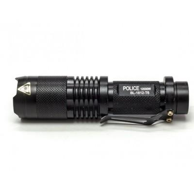 Тактический фонарь POLICE BL 1812 T6 50000W фонарик 1050 Lumen