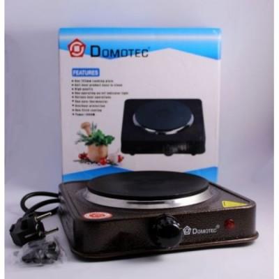 Плита электрическая однокомфорочная Domotec MS-5821 1000W электроплита