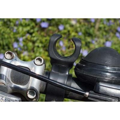 Поворотное велокрепление для фонариков 8626 и других
