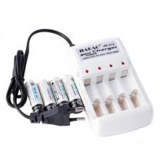 4 шт аккумуляторы + зарядное устройство Jiabao JB-212 AA