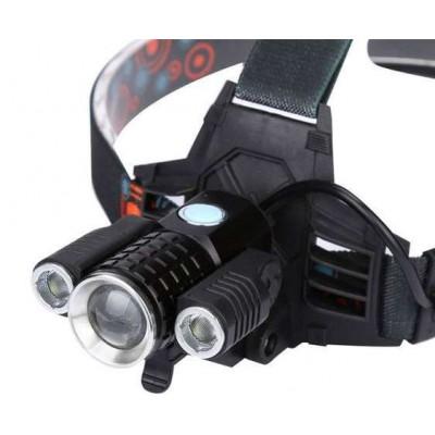 Налобный фонарь Bailong W602-T6 фонарик 1000 Lumen