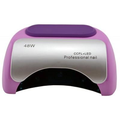 УФ лампа для ногтей Beauty nail 18K CCFL LED 48W сушилка сенсор Сиреневый