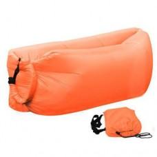 Ламзак надувной диван Lamzac гамак, шезлонг, матрас Двухслойный Оранжевый