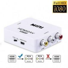 Адаптер HDMI to AV RCA переходник конвертер 720p/1080p