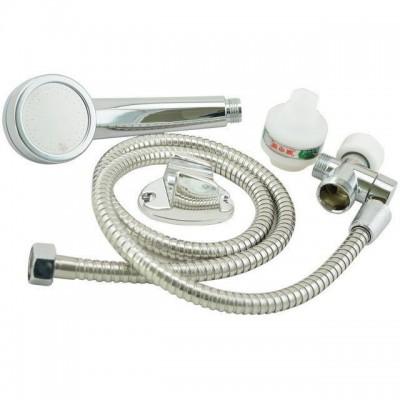 Проточный водонагреватель кран бойлер с душем и циферблатом (Подключение с низу)