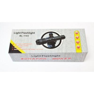 Тактический фонарь Police BL-1103 200000KV фонарик шокер