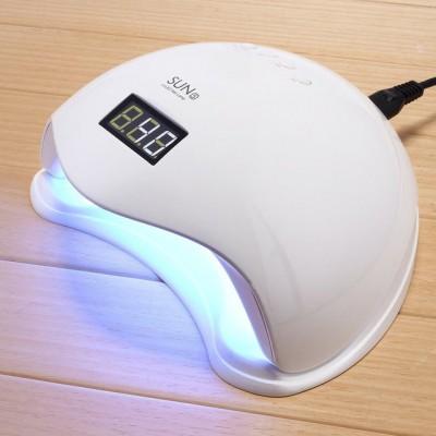 LED UV лед уф лампа Sun5 сан5 48вт для наращивания ногтей, гель лак Белая