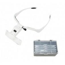 Бинокуляр очки бинокулярные со светодиодной подсветкой 9892BP