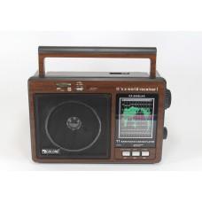 Радиоприемник-колонка MP3 GOLON RX 9966UAR Коричневый