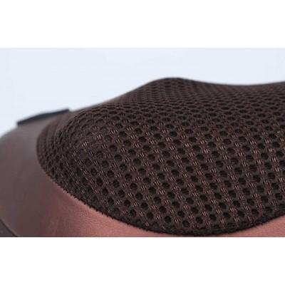Массажер, массажная подушка для дома и машины Massage pillow CHM-8028 (8 роликов)