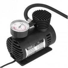 Автомобильный компрессор 300 psi 10-12Amp 30л + насадки