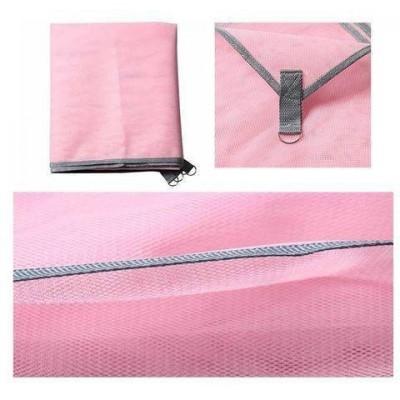Коврик-подстилка для пикника или моря анти-песок Sand Free Mat 200x200 мм Розовый