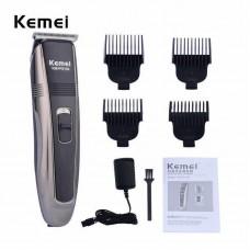 Беспроводная машинка для стрижки волос KEMEI PG-104 с индикатором заряда