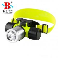 Налобный фонарик для дайвинга Bailong BL-56 фонарь