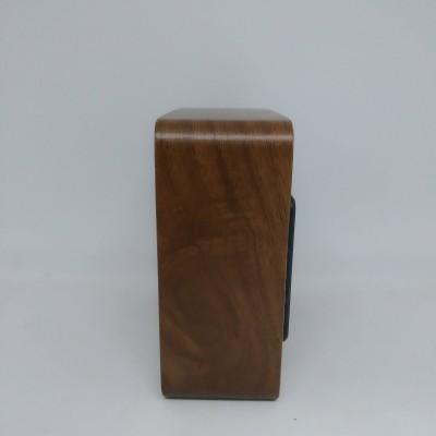 Настольные деревянные Часы VST 872 коричневое дерево (зеленая подсветка)