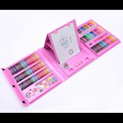 Набор для детского творчества в чемодане из 208 предметов Розовый