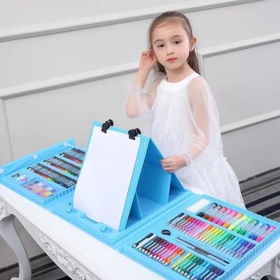 Набор для детского творчества в чемодане из 208 предметов Синий