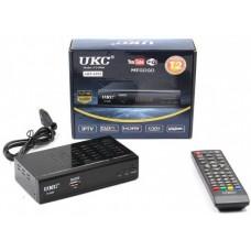 Тюнер UKC DVB T2-0968 с поддержкой wi-fi адаптера
