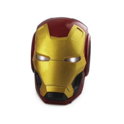 Портативная Bluetooth колонка Железный человек Iron Man Красная с золотом