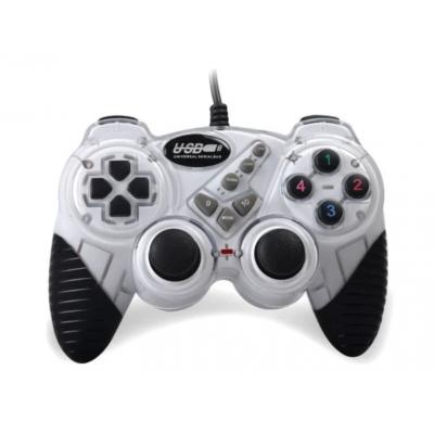 Игровой компьютерный джойстик PC Double shok 2 DJ-FHJ906 Белый