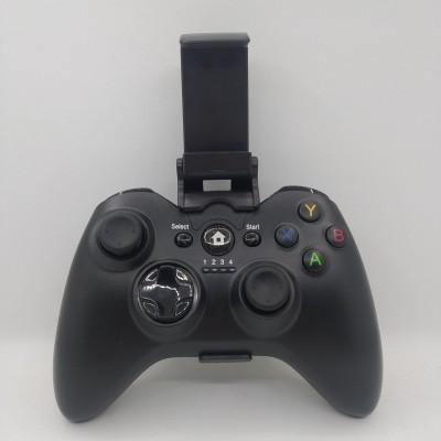 Беспроводной Джойстик C9 6 в 1 для ПК/PS2/PS3/PC360/ANDROID TV/WIN10 вибро Чёрный