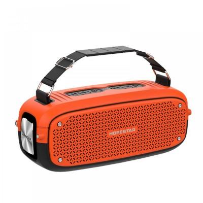 Портативная Bluetooth колонка Hopestar A21 ФМ, MP3, USB Оранжевая