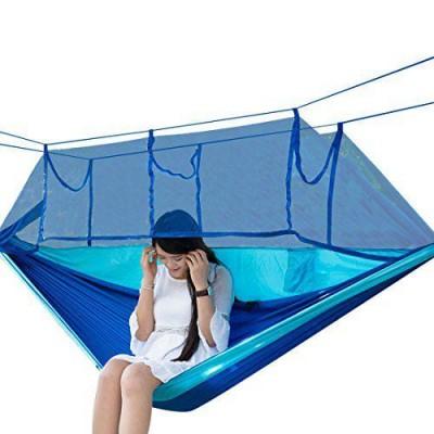Туристический гамак с москитной сеткой HAMMOCK NET Синий