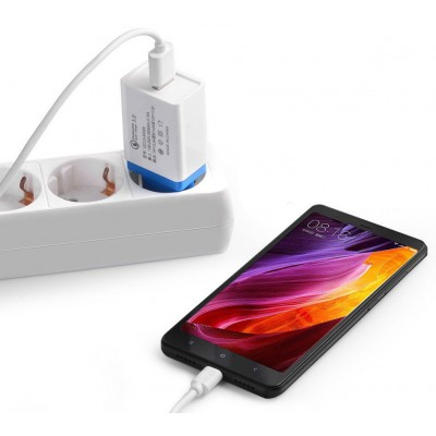 Сетевое зарядное устройство (адаптер, зарядка) UKC 5216 Fast Charge QC 3.0 AR 60