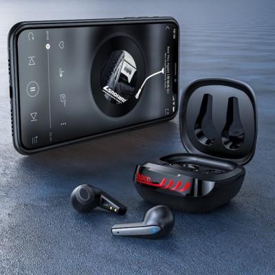 Беспроводные Bluetooth наушники Hoco ES43 Lucky sound TWS wireless headset Чёрные