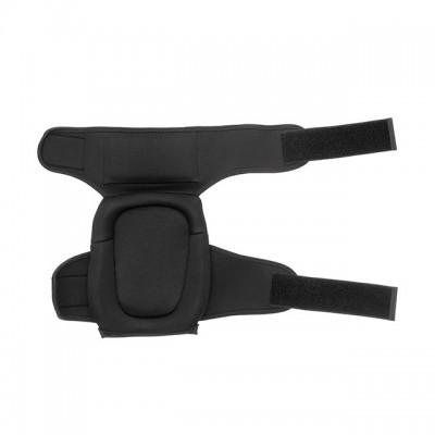 Наколенники защитные, противоскользящие накладки из ПВХ, ткань 600D, гелевые подушки, неопреновые ремни INTERTOOL SP-0054